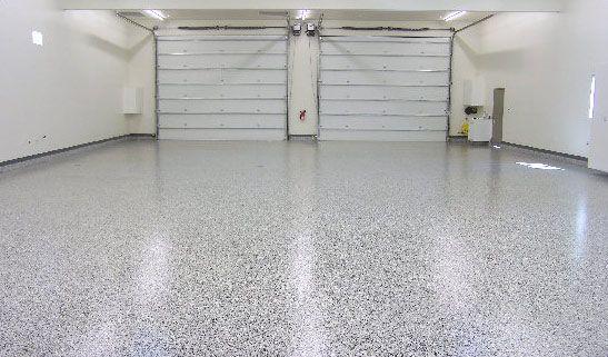 Epoxy resin in seamless floors